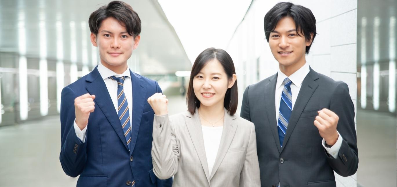 3人の若者の画像