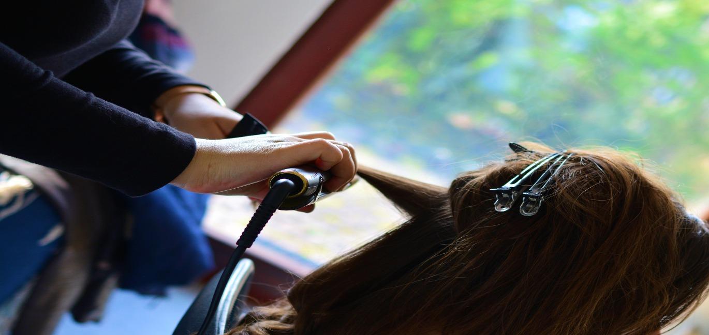 美容師の画像